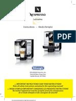 Manual_DeLonghi EN 660 R Nespresso Lattissima