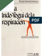 (Yogui Ramacharaka) - Ciencia Indo-yogui de la respiracion