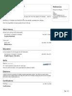 Alexander Siguenza VisualCV Resume