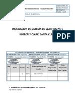PTS INSTALACION DE SISTEMA DE SCARFIN