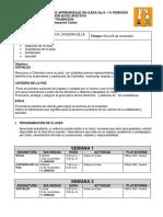 0° DIMENSIÓN SOCIO AFECTIVA - PAC CUARTO PERIODO - NOVIEMBRE 01