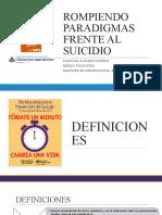 ROMPIENDO PARADIGMAS FRENTE AL SUICIDIO