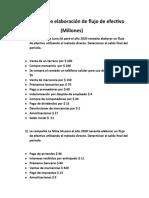 Ejercicios- flujos de efectivos - tarea