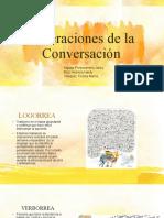 Alteraciones de la Conversación