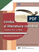 LIMBA SI LITERATURA ROMANA+gimnaziu