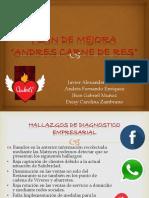 Plan de Acción de mejora Andrés Carne de Res
