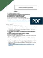 Manual de Funciones de Una Empresa