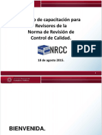 3. Presentación Capacitación para Revisores de la NRCC.