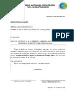 CARTA DE PRESENTACION CHONGOS BAJO