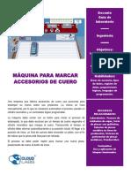 1_Máquina para marcar accesorios_Docente
