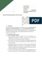 DEMANDA DE IMPUGNACION