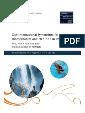 XI international symposium on biomechanics and medicine in swimming