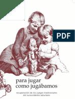 Libro juegos tradicionales asturianos