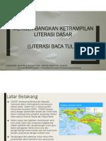 Pengembangan keterampilan literasi dasar unicef