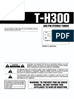 Teac H300 Am Fm Tuner