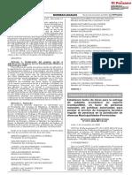 RESOLUCION MINISTERIAL N° 0791-2020-MTC/01.02