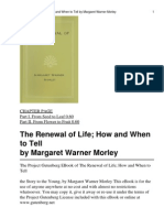 Renewal of Life, The