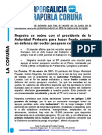 25-01-11 REUNION PP CON AUTORIDAD PORTUARIA