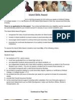 Island Skills Award