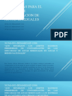 NORMATIVAS PARA EL PROCESO DE POTABILIZACION DE AGUAS RESIDUALES.pptx