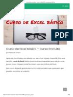 Curso de Excel básico - Curso COMPLETO y totalmente GRATIS