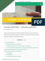 Función BUSCARV - La guía más completa