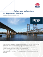 M1 Pacific Motorway extension to Raymond Terrace