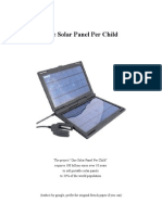 One Solar Panel Per Child En