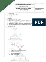Instruksi Kerja Pengukuran Angle of Repose WI.QC.04.08