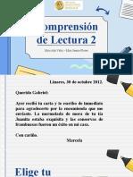 PPT COMPRENSIÓN DE LECTURA N°2.pptx