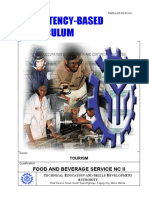Competency-based Curriculum (TESDA-OP-CO-01-F11) F&B