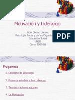[PD] Presentaciones - Motivacion y liderazgo