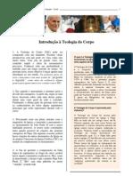 Texto Complementar - Tema 1 - Introdução a Teologia do Corpo