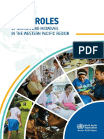 Vital Roles of Nurses and Midwives in the Western Pacific Region