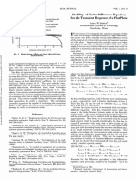 (1965) - J. W. LEECH - Stability of Finite-Difference Equation for the Transient Response of a Flat Plate