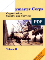 Quartermaster Corps Organization Supply and Services Vol II