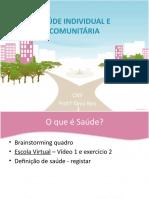 Saúde Individual e Comunitária 2020