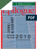 Epilogue Magazine, December 2010