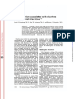 Malabsorption associated with diarrhea and intestinal infections