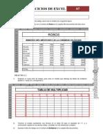 Ejercicio de Excel - 07