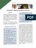 Texto Complementar - Tema 5 - Matrimônio na Dimensão da Aliança e da Graça