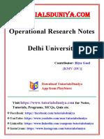 Operational Research Notes 2 - TutorialsDuniya.pdf