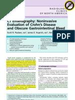 CT Enterography Radiologic clinics 2007