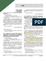 Loi 33-2010 Sur Les Experts Judiciaires