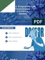 PPT Referat Diagnosis Dan Tatalaksana COVID 19 FIX
