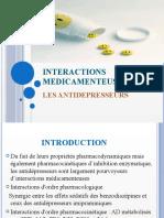 DDI Antidépresseurs