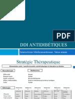 DDI Antidiabétiques