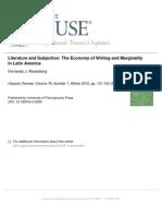 The Economy of Writing