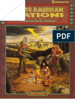 FASA7202 - Shadowrun - Native American Nations Volume One