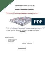etude du systeme de climatisatin volume réfrigérant varible (vrv).docx